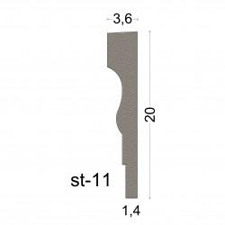 3,6x20 CORNICE SERIE SUPERIOR COD.ST-11