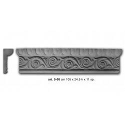 24,5x11 Decoro Linea Superior Cod.05-08