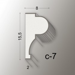15,5X8 CORNICE LINEA EASY COD.C-7