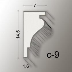 14,5X7 CORNICE LINEA EASY COD.C-9