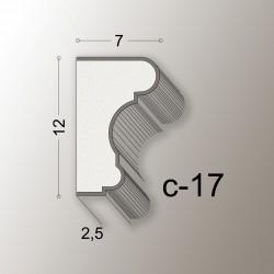12X7 CORNICE LINEA EASY COD.C-17