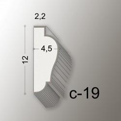 19,5 CORNICE LINEA EASY COD.C-19