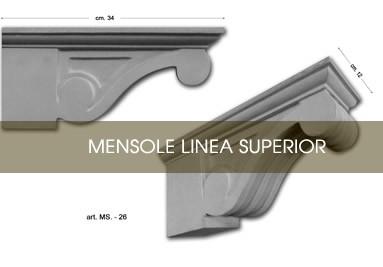 Mensole linea superior